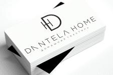 Логотип для Dantelа Home, вариант 3