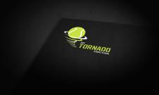 """Дизайн логотипа для теннисной школы """"Tornado"""""""