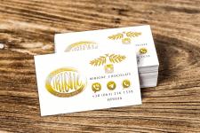 Irione одностороняя визитка