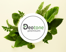 Логотип для косметической компании DEOTONE