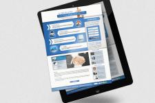 Дизайн сайту для адвокатської контори