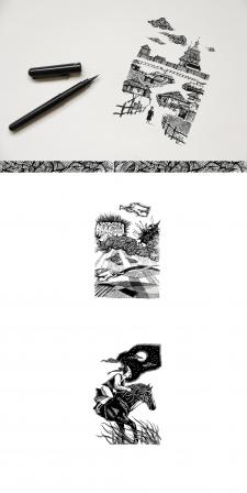 Книжная иллюстрация для КСД