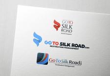 "Логотип туристической компании ""Go To Silk Road"""