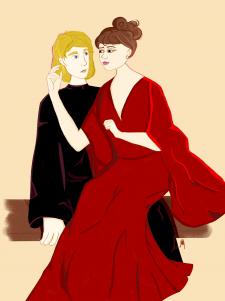 Братья Карамазовы (Алеша и Грушенька)
