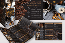 Coffee House Tri-Fold Template