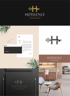 Логотип для сети отелей
