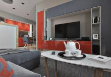 Дизайн и визуализация кухни студии