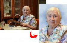 Замена фона на портрете