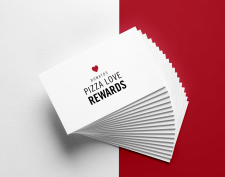 Logo for Donatos Pizza Love Rewards
