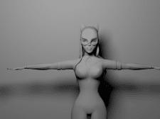моделирование персонажа в 3d