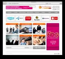 """Корпоративный сайт для компании """"Europayment"""""""