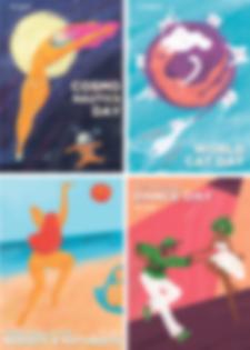 Набор прикольных открыток