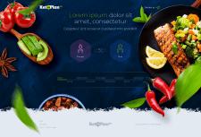 Сайт по программе питания ketoplan24 (темная)