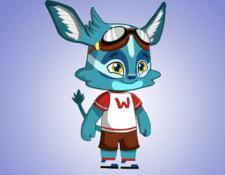 Анимация персонажа для детской игры