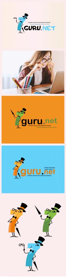 Логотип-персонаж для онлайн школы