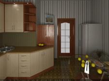 Моделирование кухни в 3D Макс