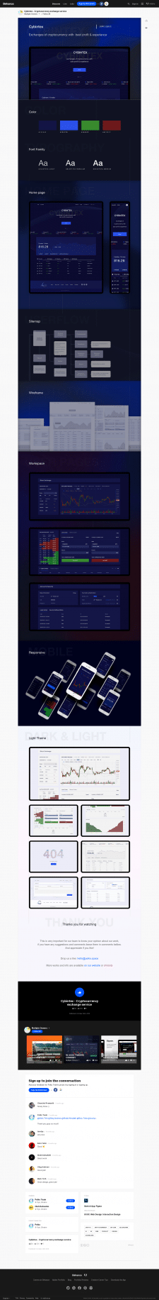 Cybintex - концепт биржи