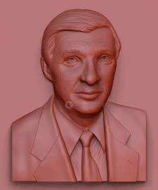 Создание 3Д модели портрета для фрезеровки в камне