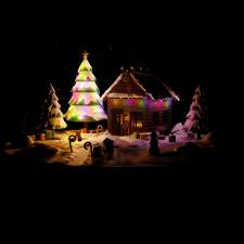 A little Christmas house