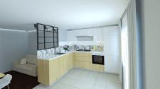 3д-визуализация кухни