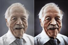 Живописная обработка портрета