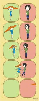 Комикс о знакомстве