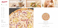 "Интернет магазин для ресторана ""Pizzaro"""