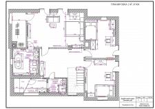 Планировка интерьера дома