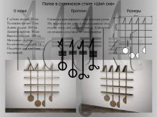 Создание и визуализация полки