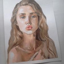 aquarelle drawing