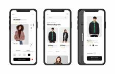 Дизайн мобильного приложения Магазин одежды