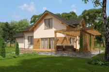 Модель и визуализация дома