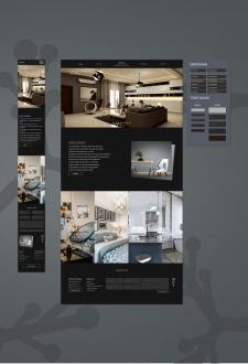 Web Site with designer furniture