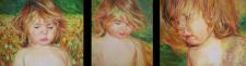 Дитячі портрети олійними фарбами
