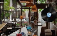 Cоздание лендинга для Vinyl Revolt