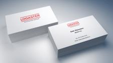 Визитка для компании Logaster