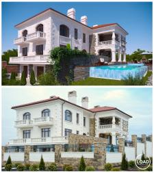 Визуализация и рабочий проект жилого дома