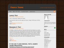 Тема Firefly для Wordpress