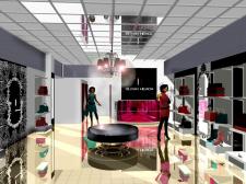 визуализация бутика