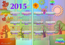 Детский календарь 2015