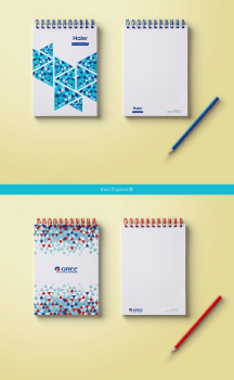 Notebooks for Gree and Haier company