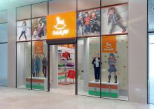 Дизайн интерьера детского магазина Goldy