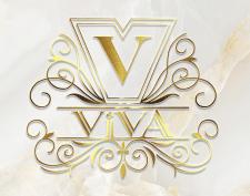 Логотип для салона красоты Viva, Казахстан