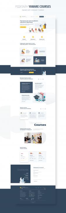 реДизайн yaware courses