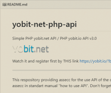 php api for yobit exchange
