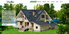 Корпоративный сайт финской строительной компании.