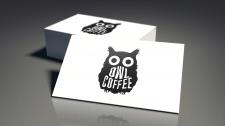 Логотип для Owl Coffee