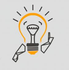 Дизайн лампочки, мелких предметов