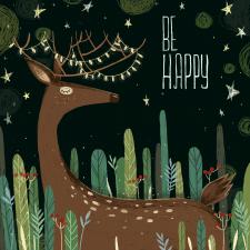 Иллюстрация к открытке