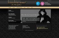 Дизайн сайта alessandrobosso.com
